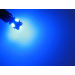 T10 5x5050 smd can-bus BLAUW