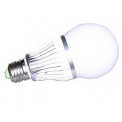 Groene LED lamp E27 fitting...