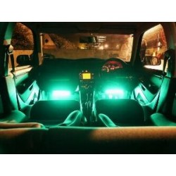 LED balk 25cm groen slagvast interieur verlichting