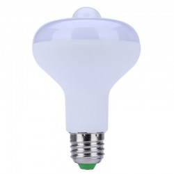 E27 led lamp 9W met PIR...