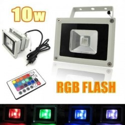 RGB mini spot 10 watt met...