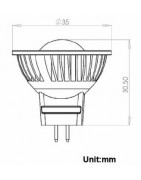 MR11 steek fitting led 12 volt voor woning en caravan