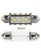 festoon buislampen led lampen voor interieur en kenteken 36mm