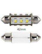 festoon buislampen led lampen voor interieur en kenteken 42mm can bus