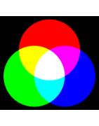 led lamp retro fit kleur blauw rood groen geel en wit