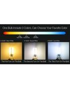 CCT-WW-CW kleuren geregelde led lamp met E27 grote fitting met draadlo